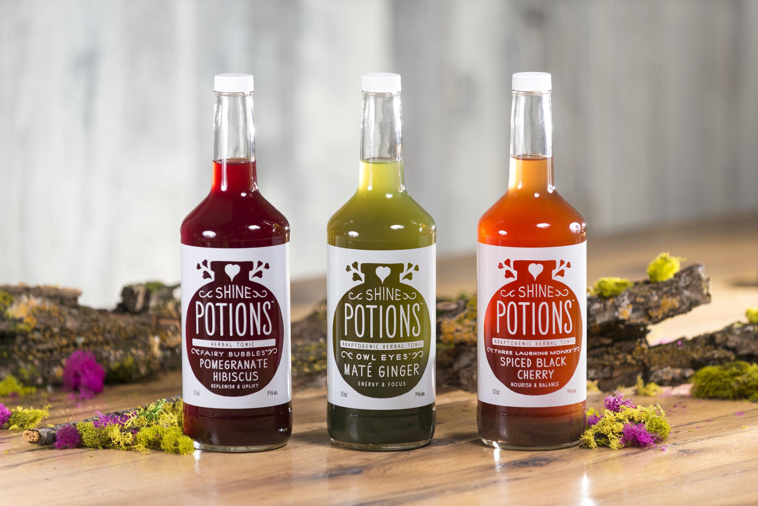 Shine Potions Launch on Amazon