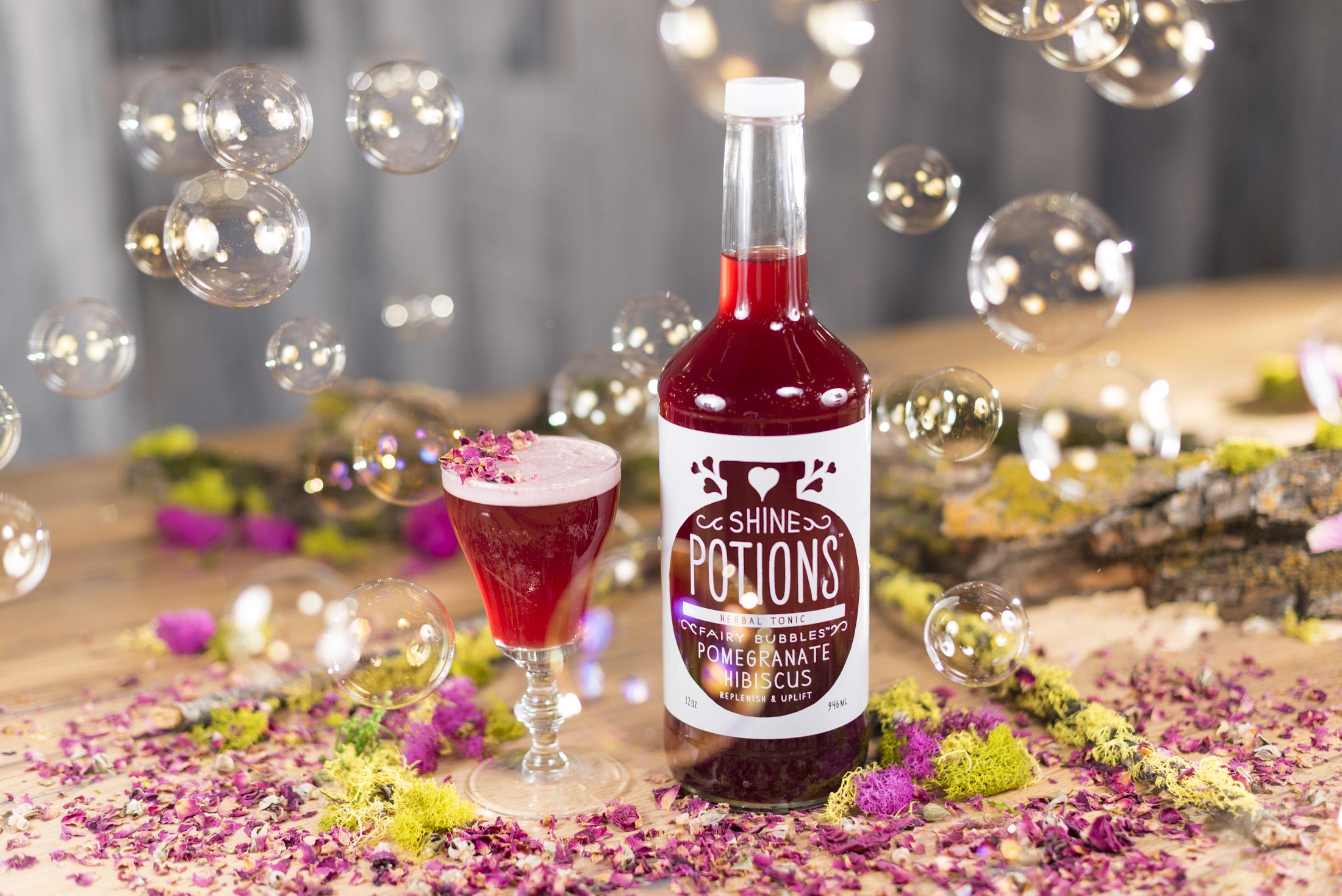 Fairy Bubbles cocktail