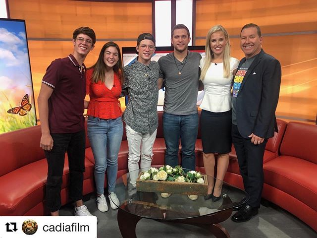 #Repost @cadiafilm with @get_repost ・・・ Our hearts ❤️ thank you to @GoodDayColumbus  and the entire team there for having us! It was an amazing time! #GoodDayColumbus #IndieFilm #FantasyFilm #ArtMakesColumbus #AsSeenInColumbus