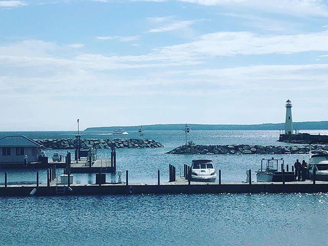 Love these views #LakeHuron #GreatLakes #LakeView #Lighthouse