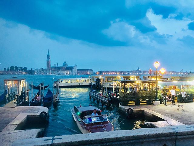 Venice at night #veniceitaly #Venice #Italy