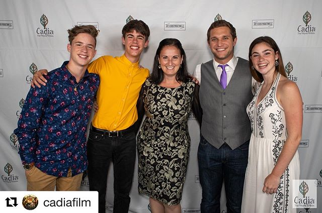 Coming soon! #ExecutiveProducer #Repost @cadiafilm with @get_repost ・・・ Some photos from the @CapitalU premiere of Cadia: The World Within, featuring some of our cast and crew, as well as Columbus theatre legend Bill Goldsmith, actress Avery Bank, athlete Bryce Cheek, and more! #premiere #film #actorslife #capfam #columbus #theatre #movie (📸 credit Jerri Shafer)