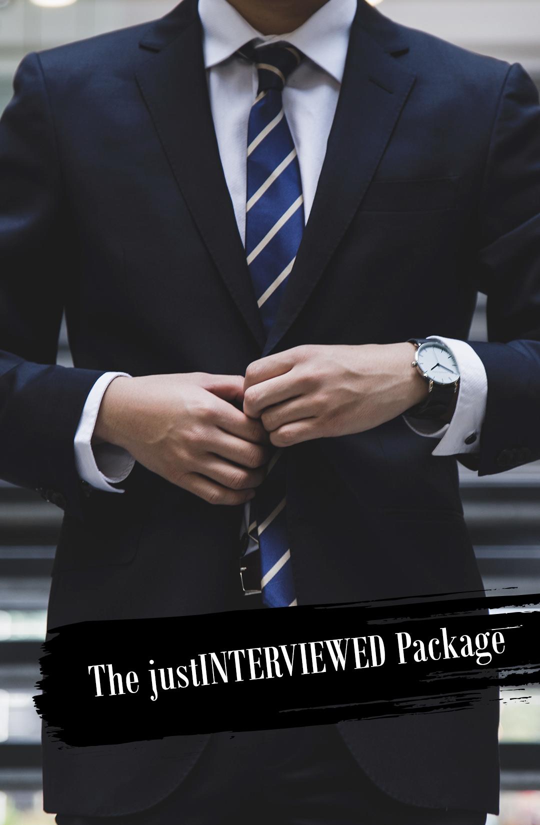 The justINTERVIEWED Package.jpg