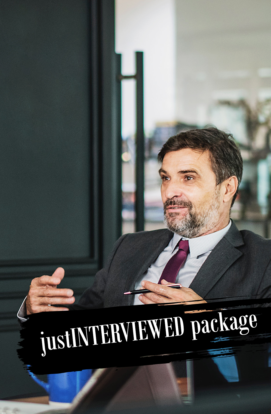 justINTERVIEWED Package.jpg