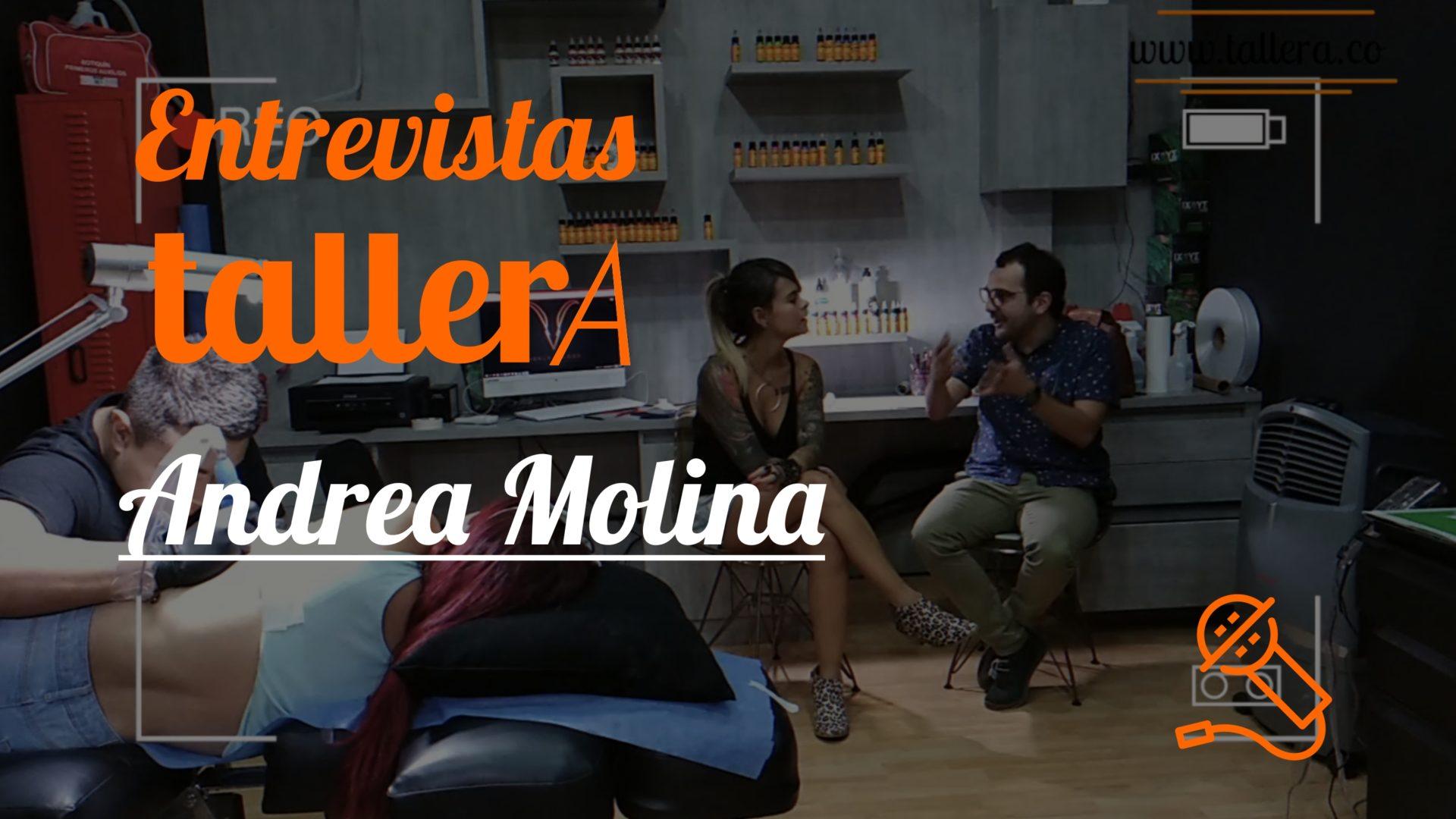 Entrevista con Andrea Molina - Una historia bonita e inspiradora que nos muestra que en algunos momento estamos en lugares donde sentimos no pertenecer y muchas veces el miedo a seguir nuestros sueños y nuestros propósitos son las barreras más grandes que tenemos.Andy Molina, una mujer que nos inspira.@andymolinab