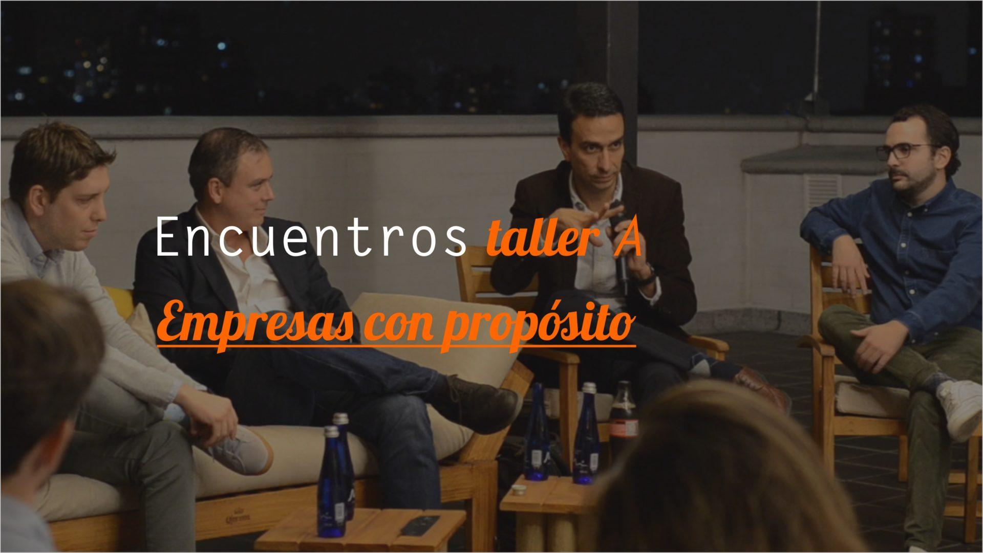 Encuentro Taller AEmpresas con propósito - Los encuentros Taller A buscan ser un espacio donde emprendedores y nuevos empresarios pueden compartir conocimientos y experiencias por medio de conversatorios con personas destacadas de diversos sectores.Comandado por Daniel Restrepo estuvimos conversado un poco con:- Alejandro Mesa, presidente de Premex - @alejomesaq- Alejandro Lopez, creado de TurboBoy - @alejolopeztb- Diego Mantilla, Presidente de TCC Colombia