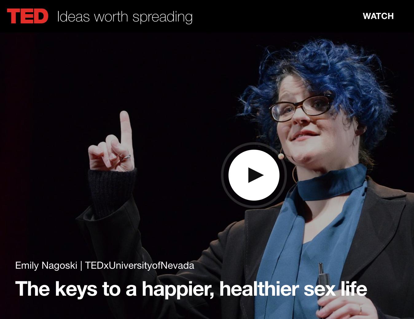 The Keys to a Happier, Healthier Sex Life Emily Nagoski