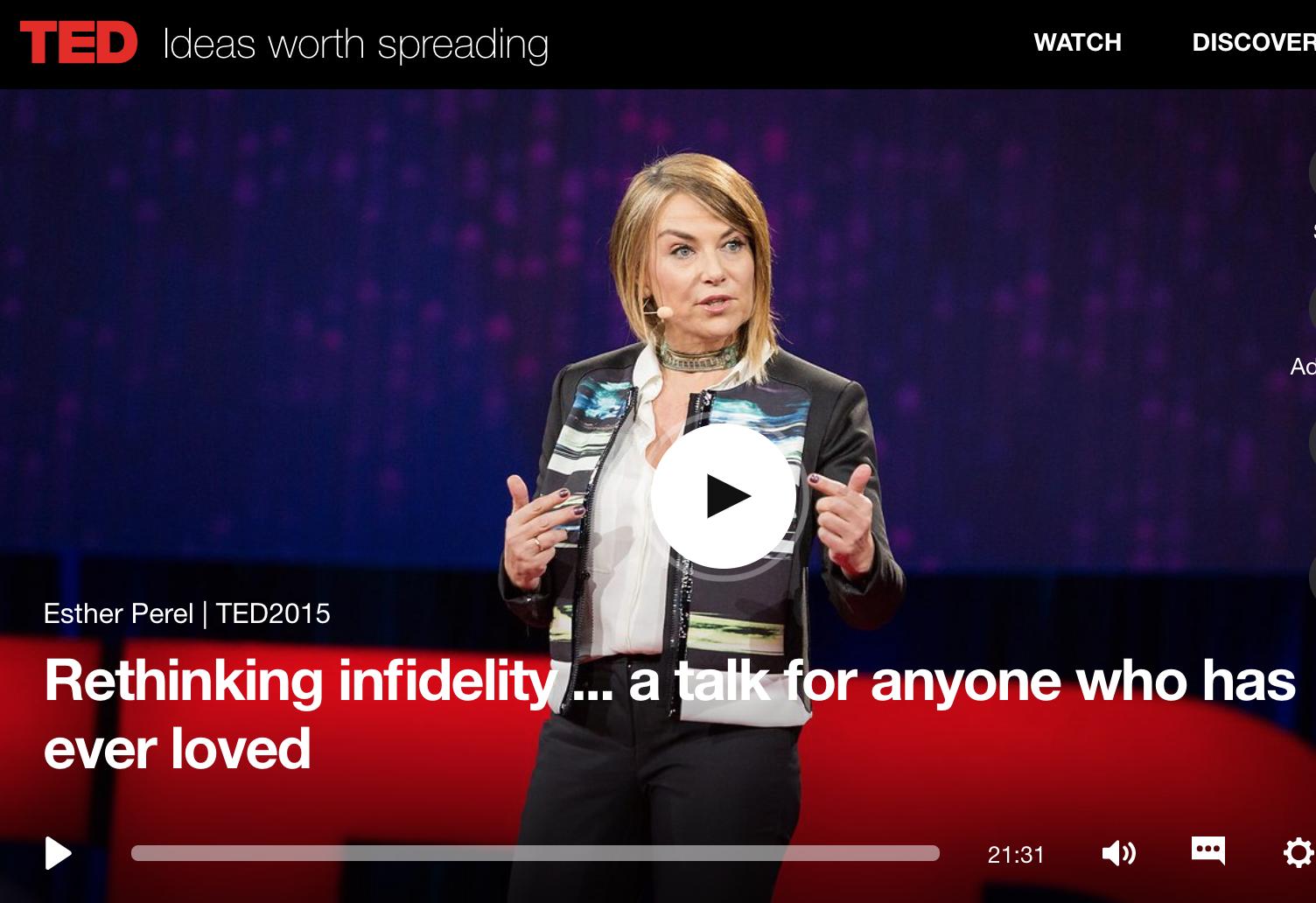 Rethinking Infidelity Esther Perel