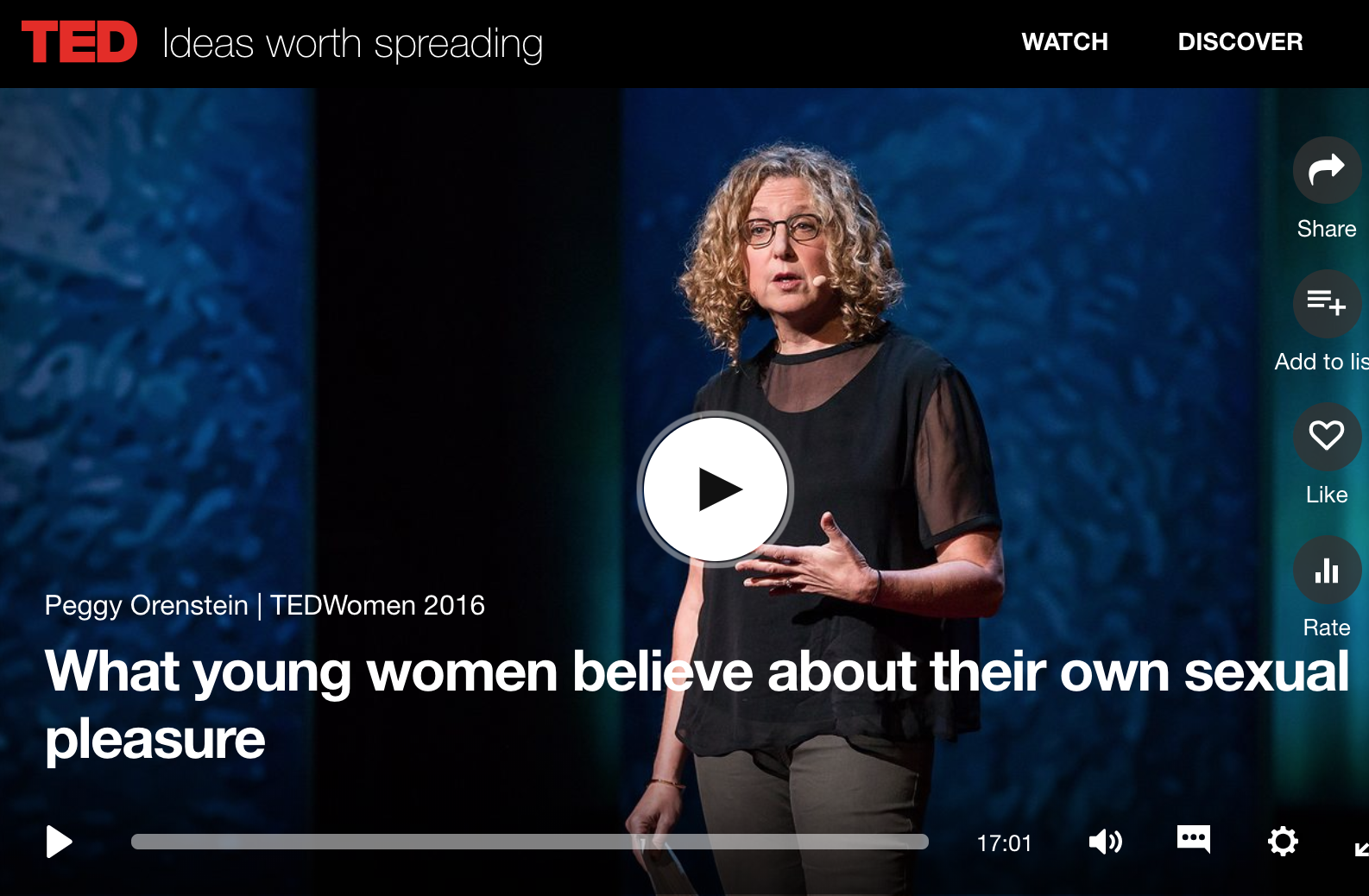 What Young Women Believe About Their Own Sexual Pleasure Peggy Orenstein