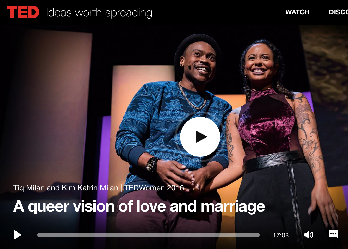 A Queer Vision of Love and Marriage