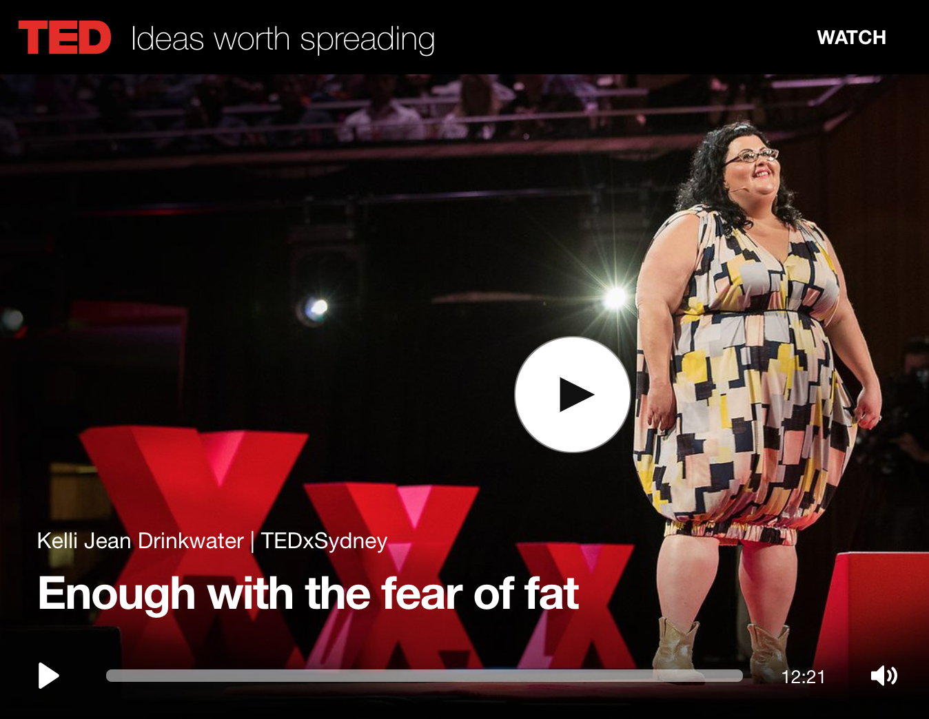 Enough With the Fear of Fat Kelli Jean Drinkwater
