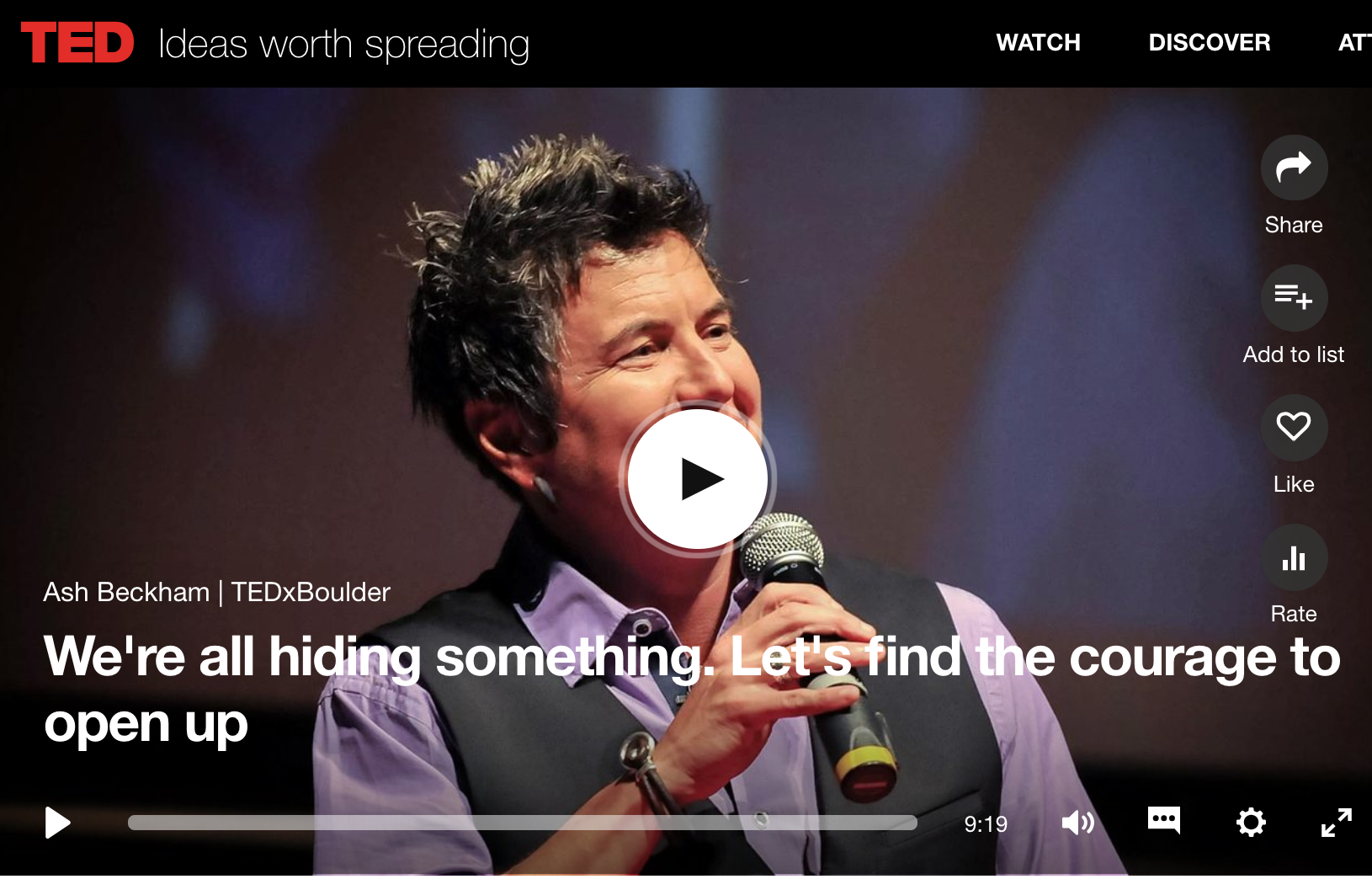 We're All Hiding Something. Ash Bekham