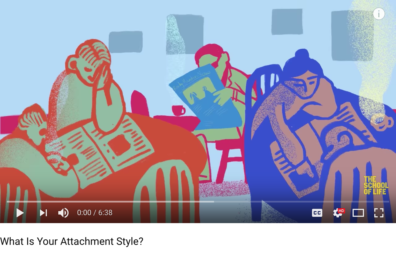 What Is Your Attachment Style? The School of Life
