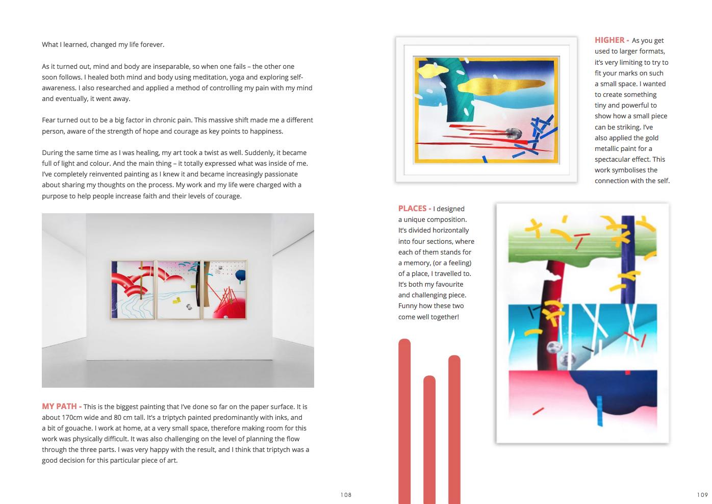 interview with gosia poraj, female artist, artist  interview