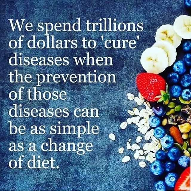 Diet can have a huge impact on disease.  I am working on a 3rd degree, BSN, right now.  And I regularly confirm my belief that the same variables of diet and activity are #1 disease-reducing variables in a person's life that are mostly in our control.  Thanks to @wahlsprotocol for the image.🍅