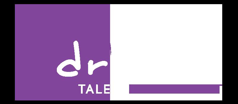 Dream Talent Management Logo White.png