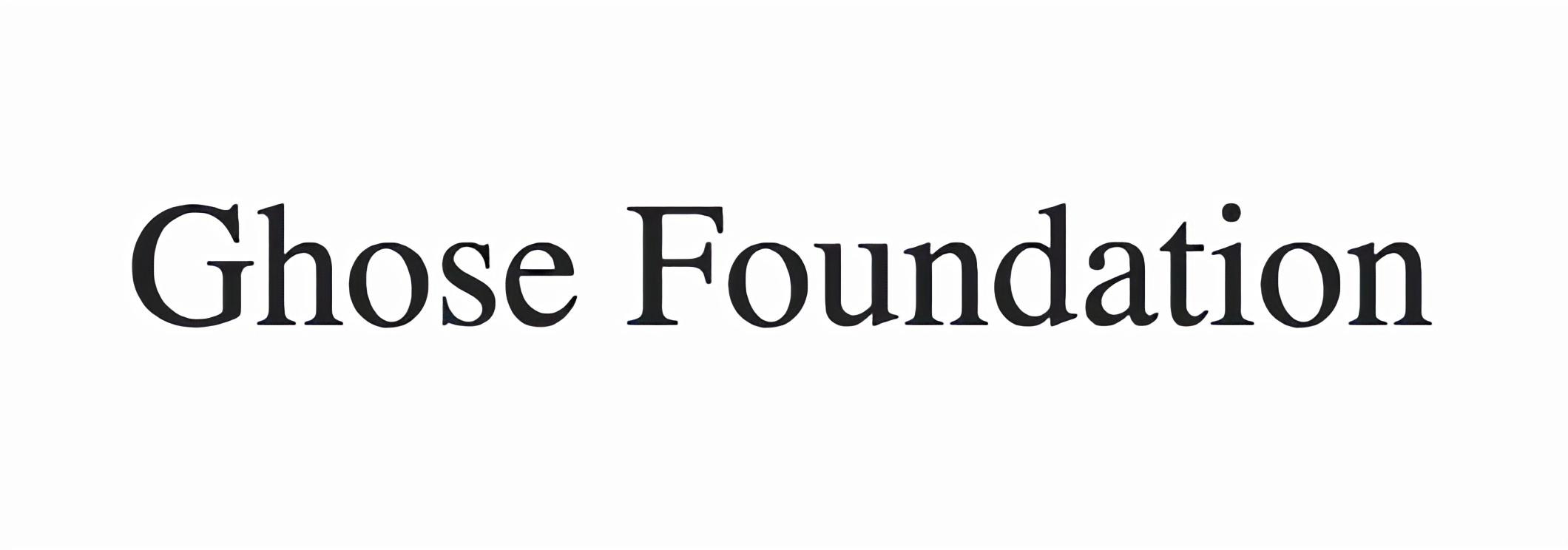 Ghose Foundation logo.jpg