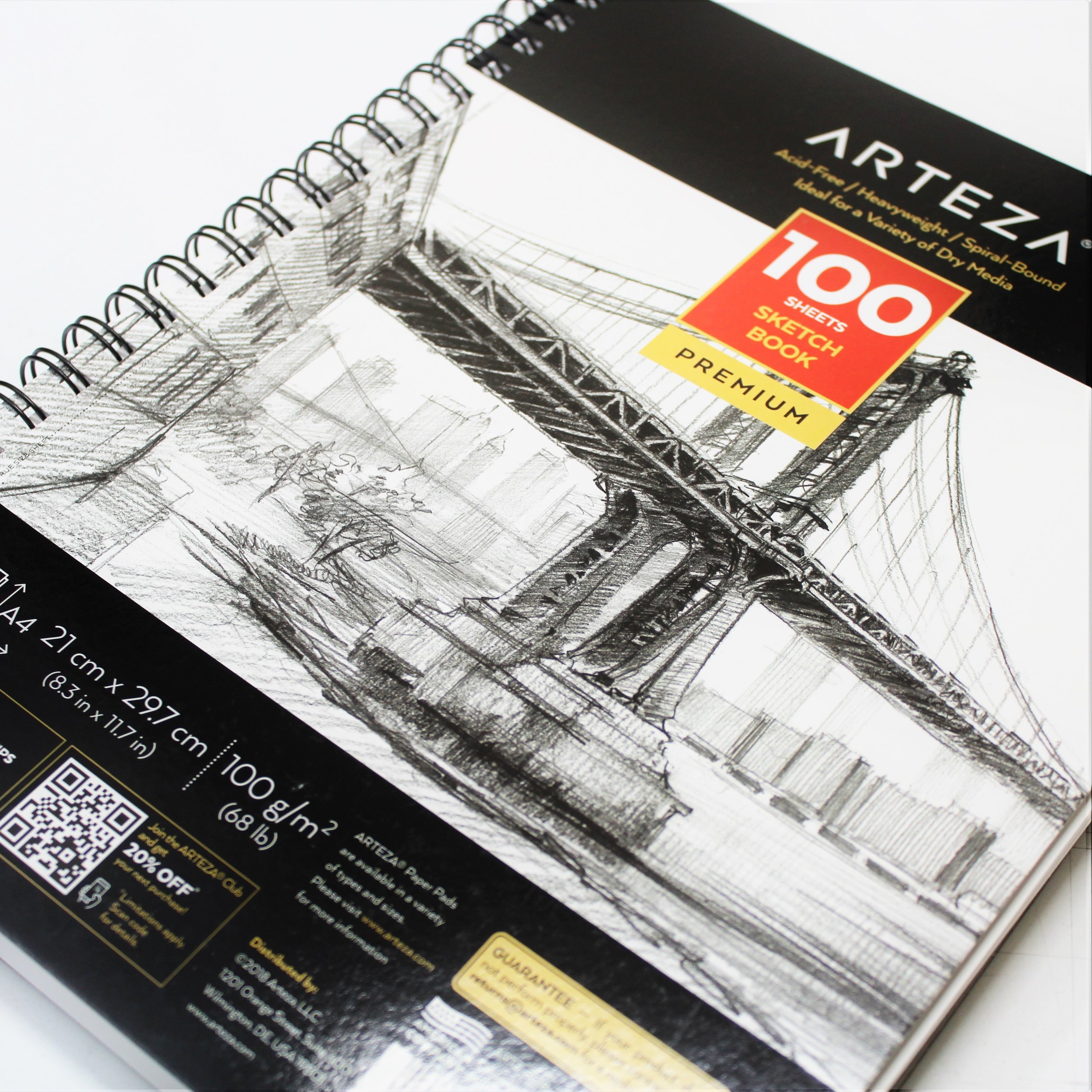 Arteza Sketch Book