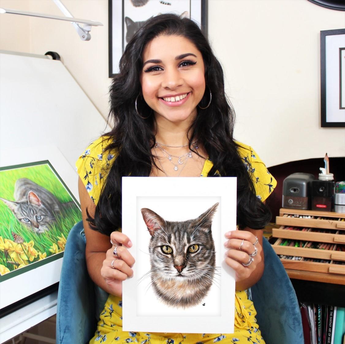 Sema Martin Pet Portrait Artist