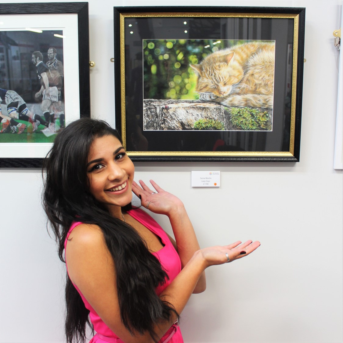 UKCPS 2019 World of Colour Pencil Exhibition at the Derwent Pencil Museum - My drawing Lazy Days was chosen to exhibit at the Derwent Pencil Museum in Keswick. Click on the button below to read more about this event in my blog post.