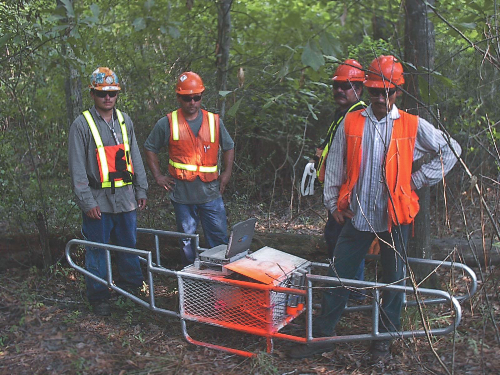 2004 - Inertial Land Survey - Proprietary inertial survey instruments created