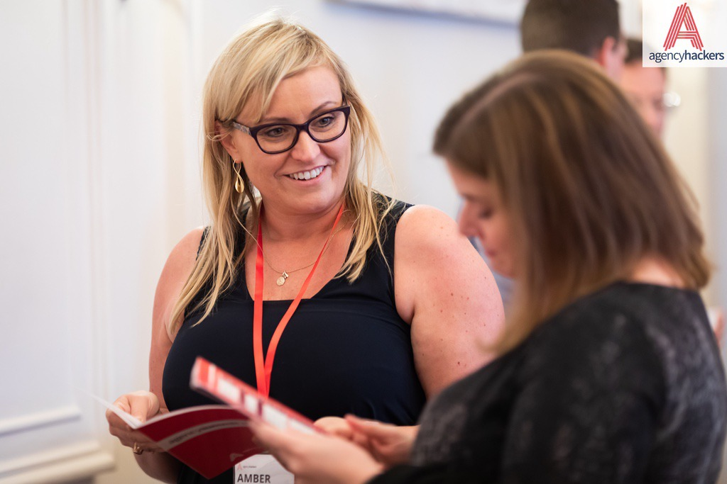 """""""Agency Hackers events always inspire me and send me off with a list of key things to implement in my business. They are thoughtfully curated and I enjoy meeting like-minded people that are genuinely there to learn and share collective wisdom.""""  Amber Williamson ,  Digital Willow"""