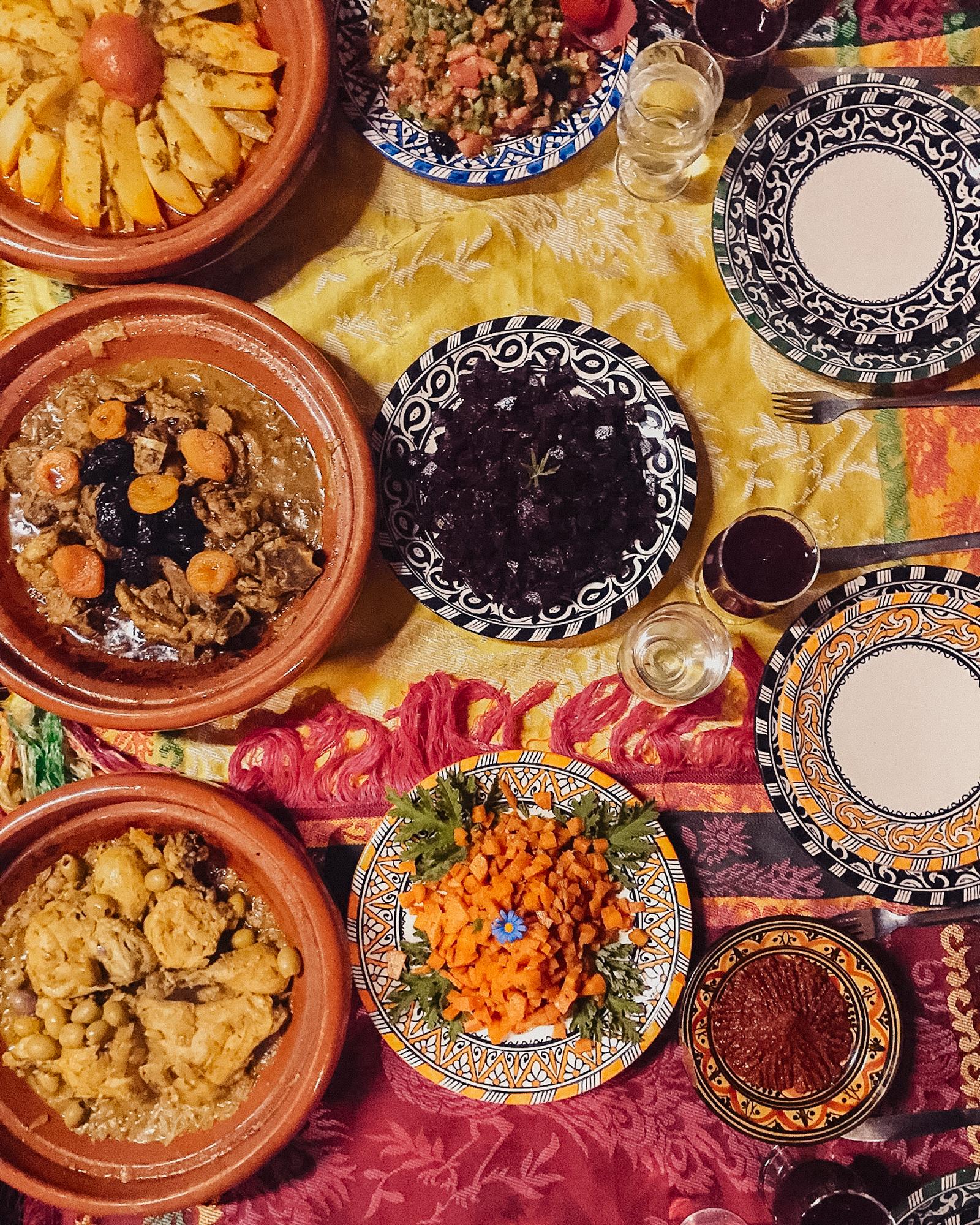 cooking class in Berber village