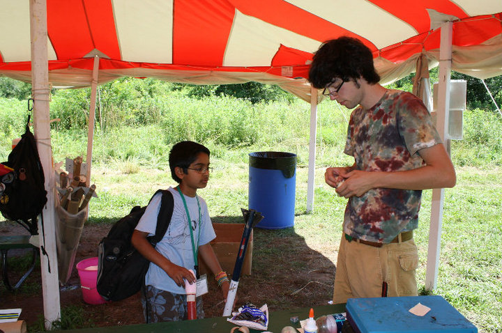 Patrick Corrigan at Art and Science in the Woods