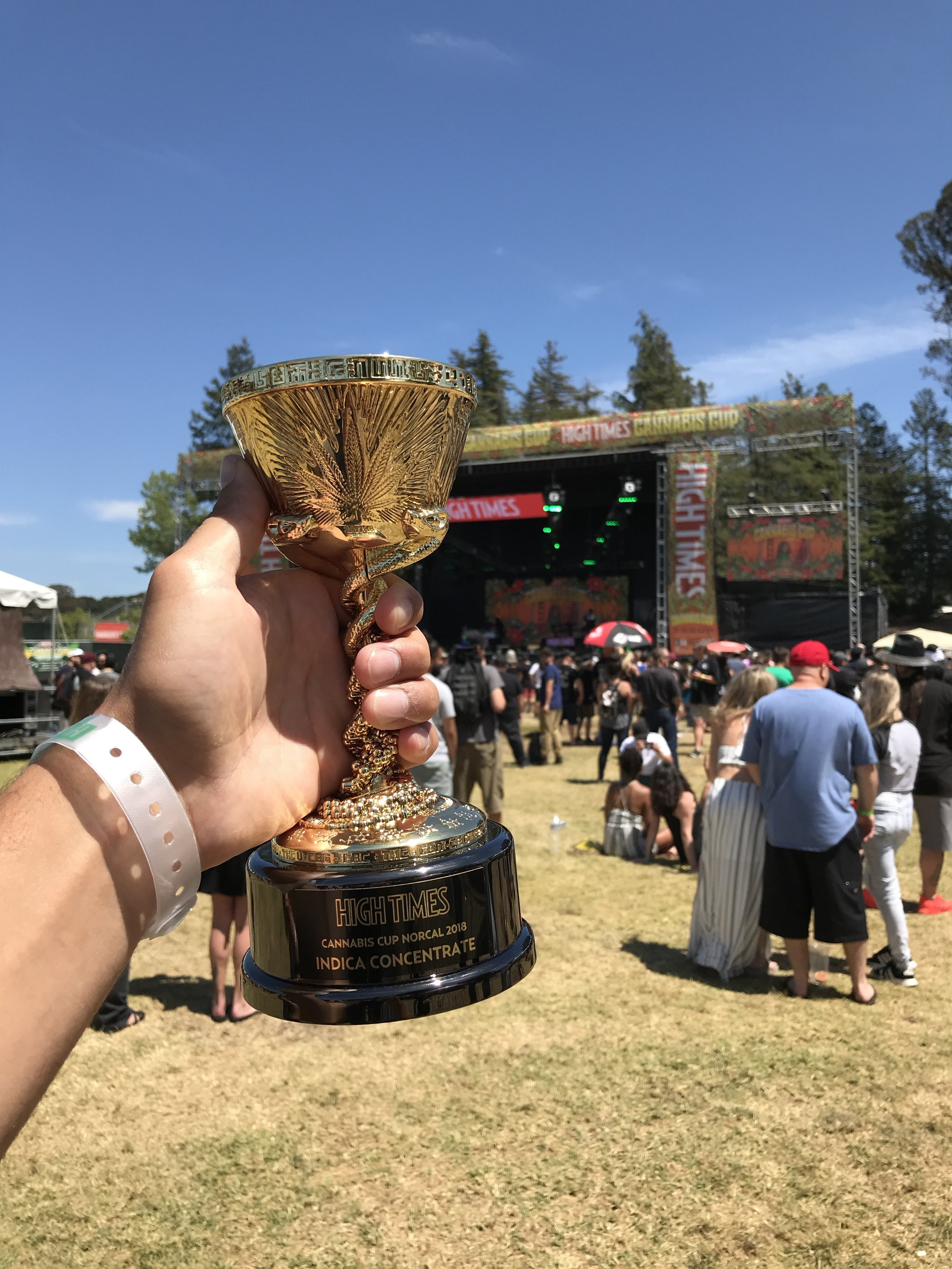 June 3rd 2018: 1st Place Indica Concentrate Norcal Hightimes Cannabis Cup