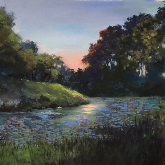 Getting Late Light is Almost Gone - pastel