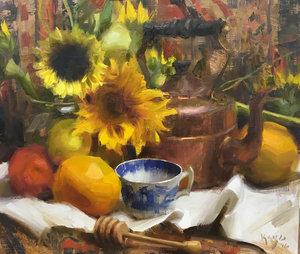 Alla primia oil focus on fall - Daniel Keys Alla Prima fall workshop.October 10-12, 2019$575