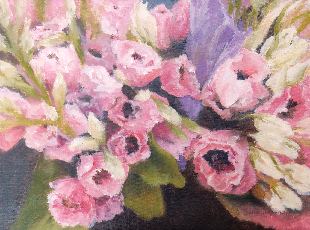 Nature's Blooms - oil