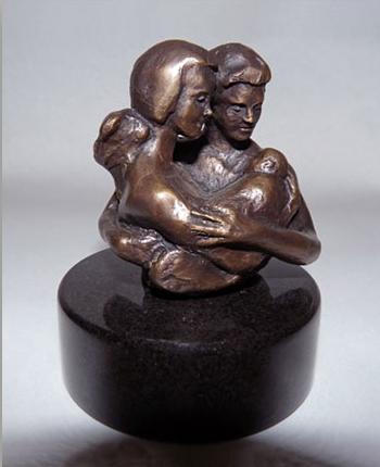 Adoration - bronze