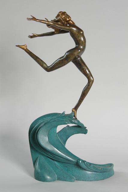 Joyful Becoming - bronze