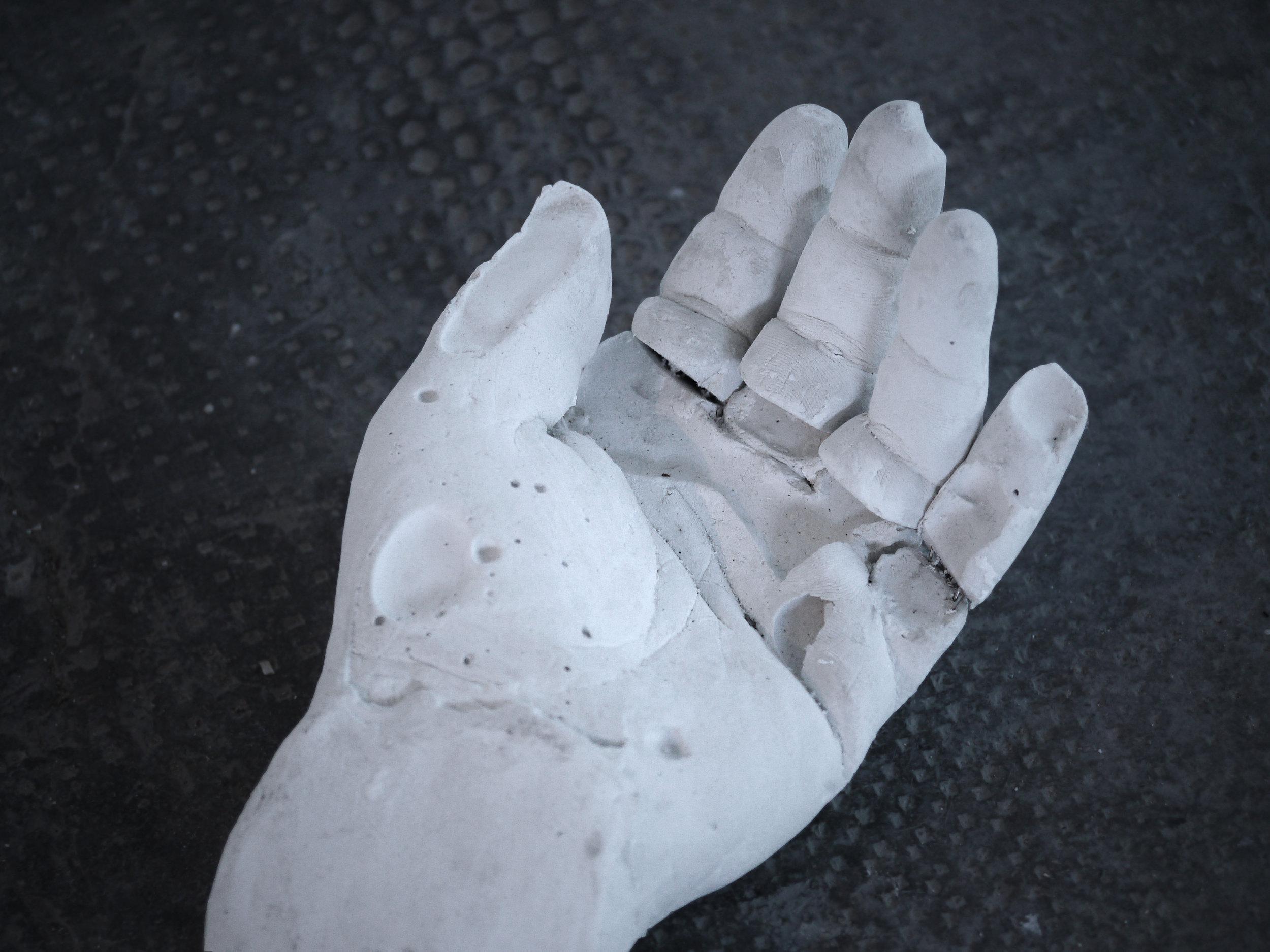 (1)  Zeus' Hand - Cast Number 1 , 2017