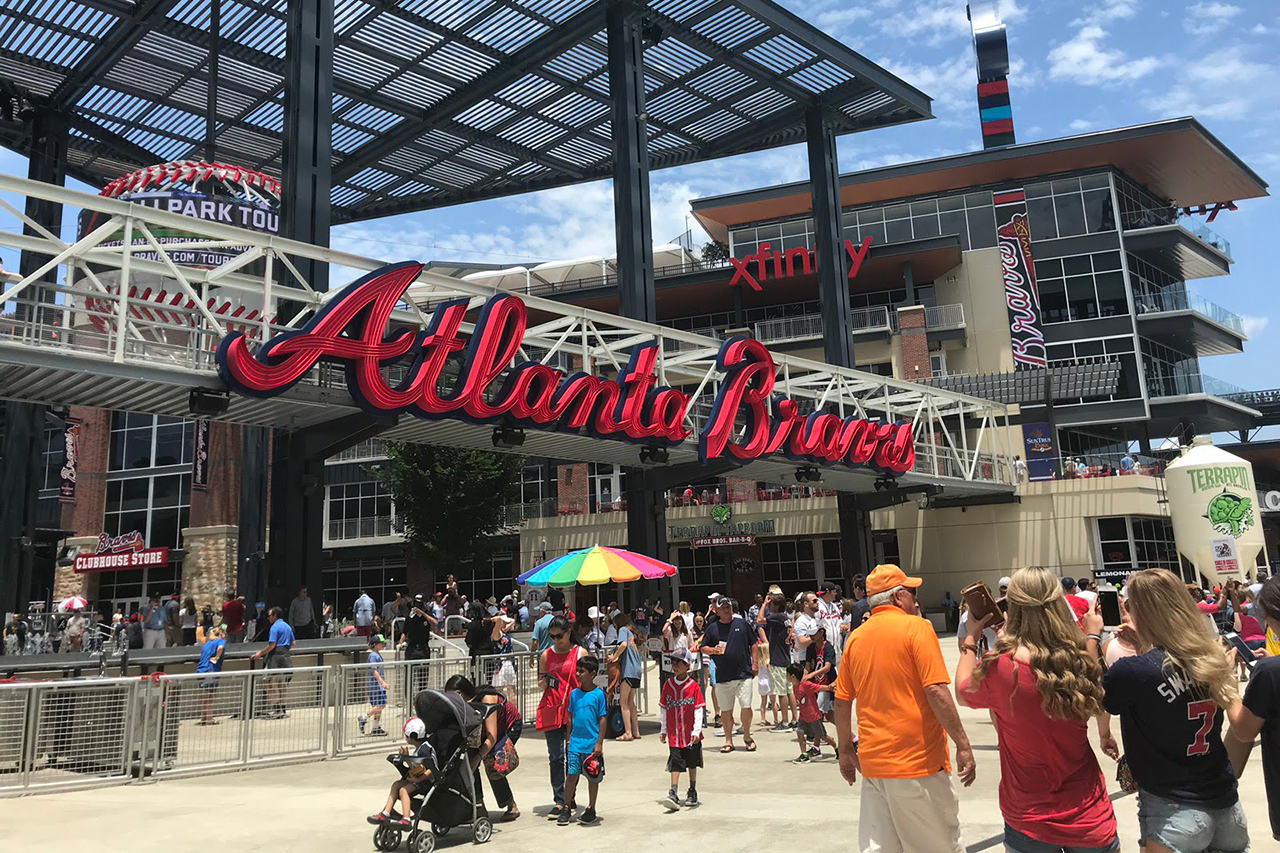 Suntrust Park Atlanta Braves -