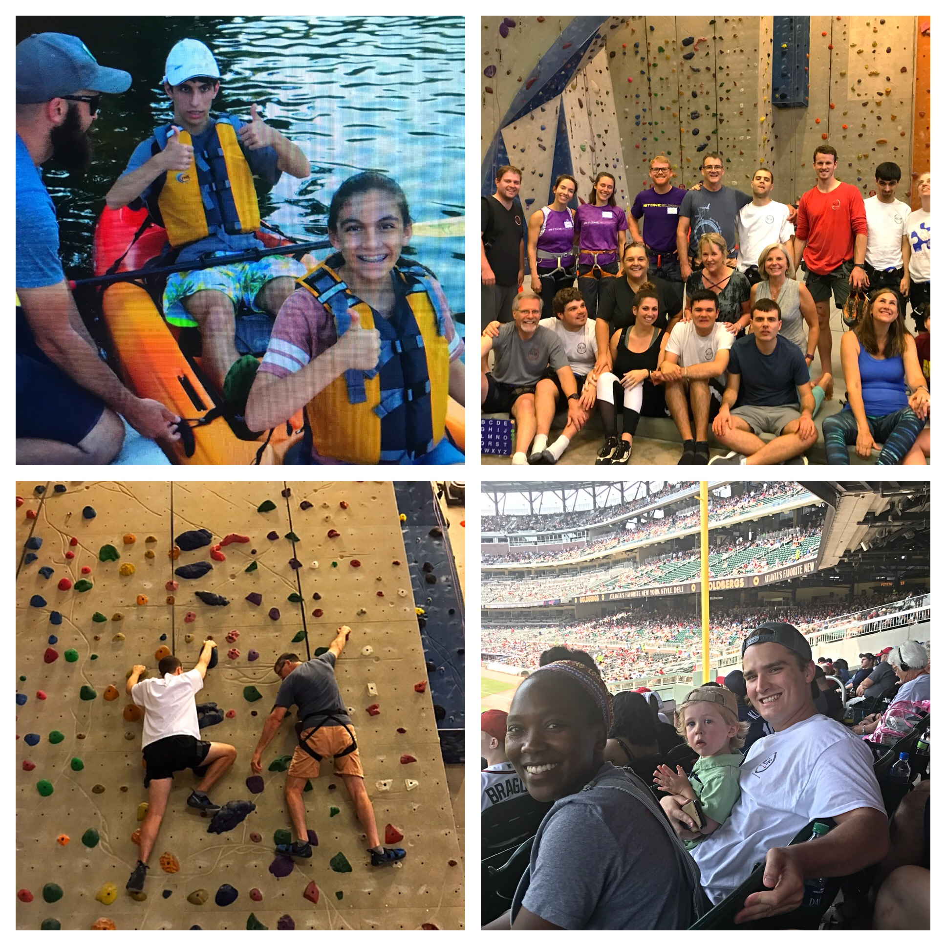 Autism Inclusive Social Outings - Sensory friendly environments and support for those with autism to experience activities which are often taken for granted such as kayaking, hiking, rock climbing, volunteerism, movies, and attending sporting & cultural events. Participation is geared for all friends and family as well.