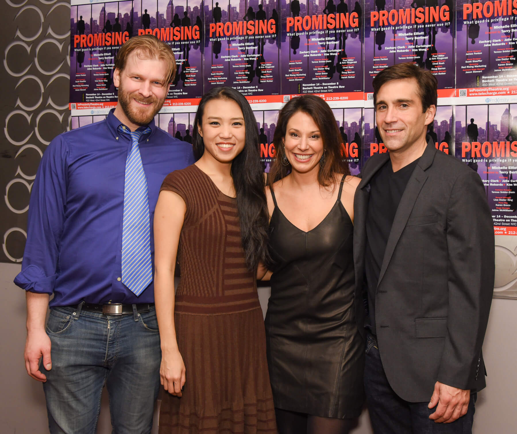 "InProximity Theatre Company ""Promising"" Cast"