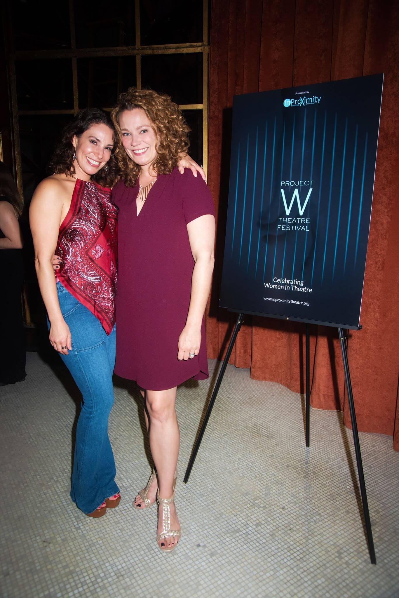 Project W Theatre Festival - Jolie Curtsinger & Laurie Schaefer