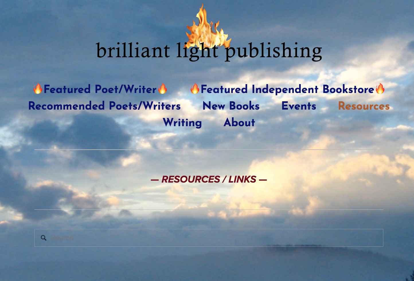 Check out  Brilliant Light Publishing's  growing list of author  Resources  and  Links