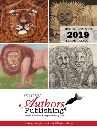 Maine Author's Publishing , current catalog cover © Maine Author's Publishing