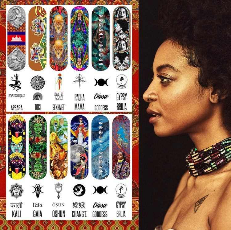 Power Nail Decals