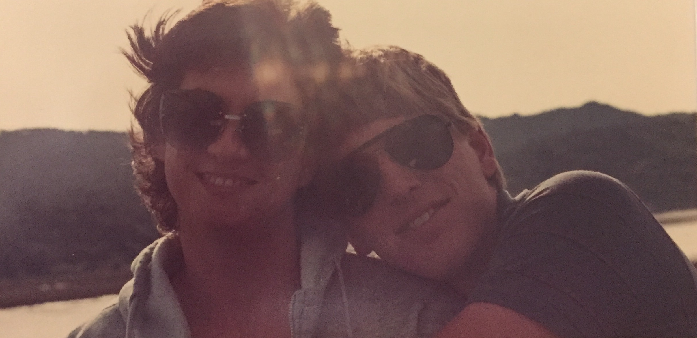 Jim and Rochelle in 1987