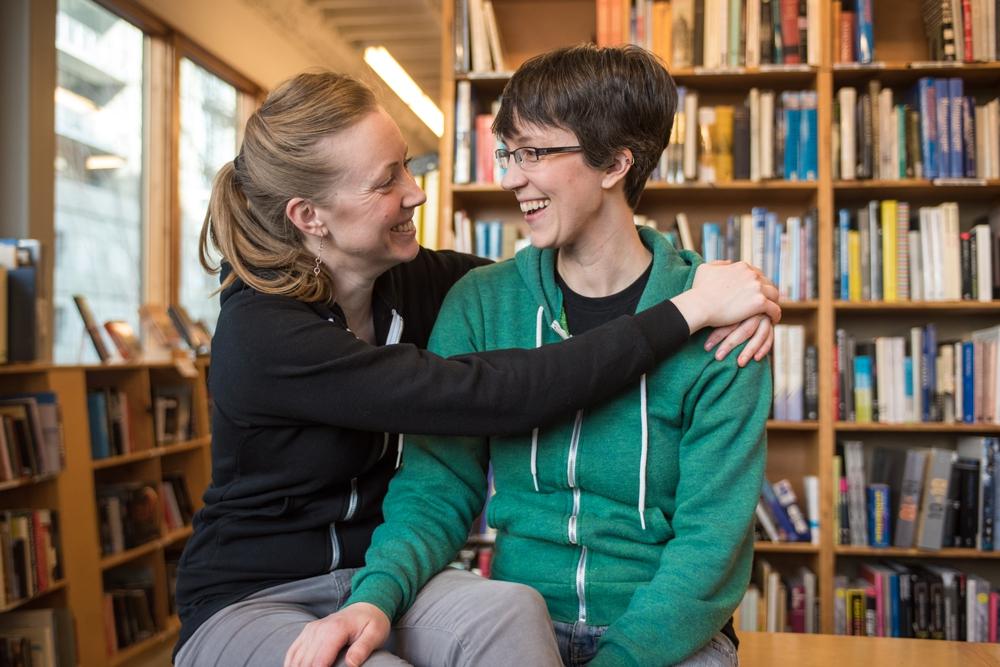 Jeannie + Anne Downtown Portland Engagement 1.jpg