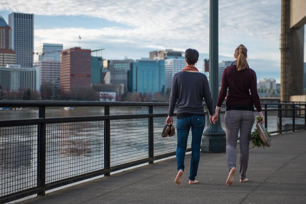Jeannie + Anne Downtown Portland Engagement 7.jpg