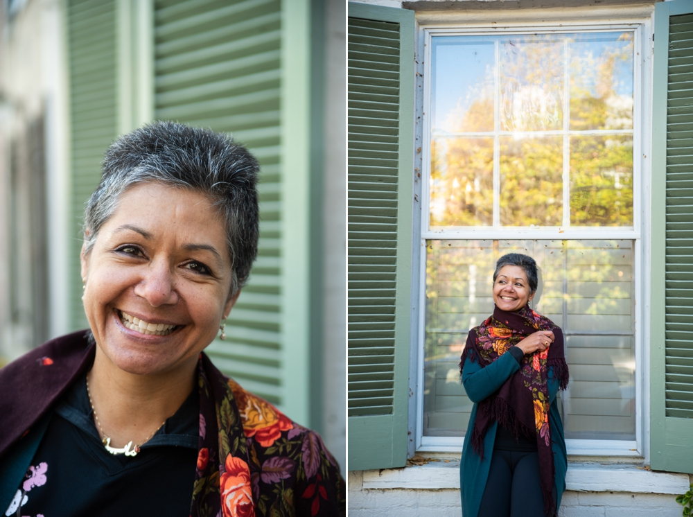 Empowering Portrait Photoshoot in Old Town Alexandria, Virginia