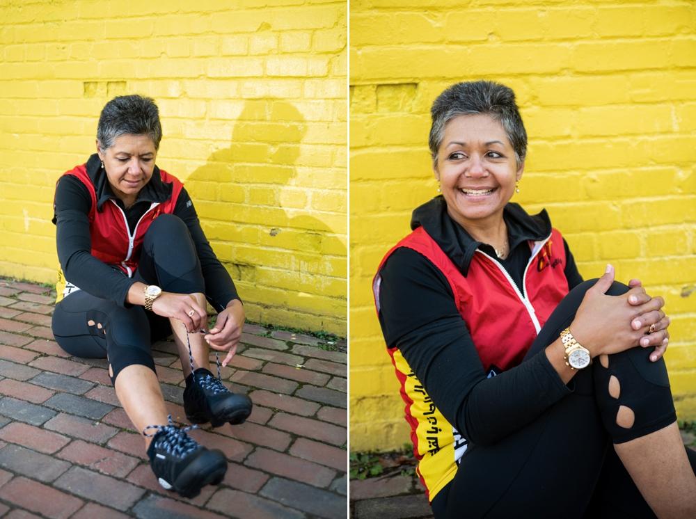 Headshot Portrait Photoshoot in Old Town Alexandria, Virginia