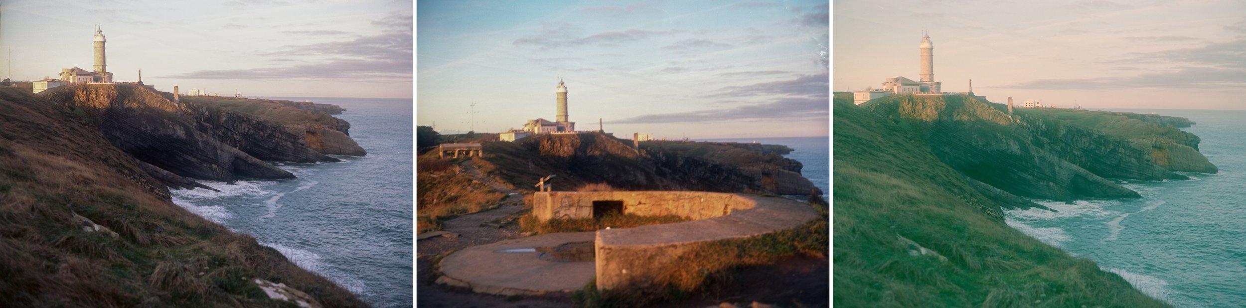 Travel Photo at Faro del Cabo Mayor in San Sebastian, Spain