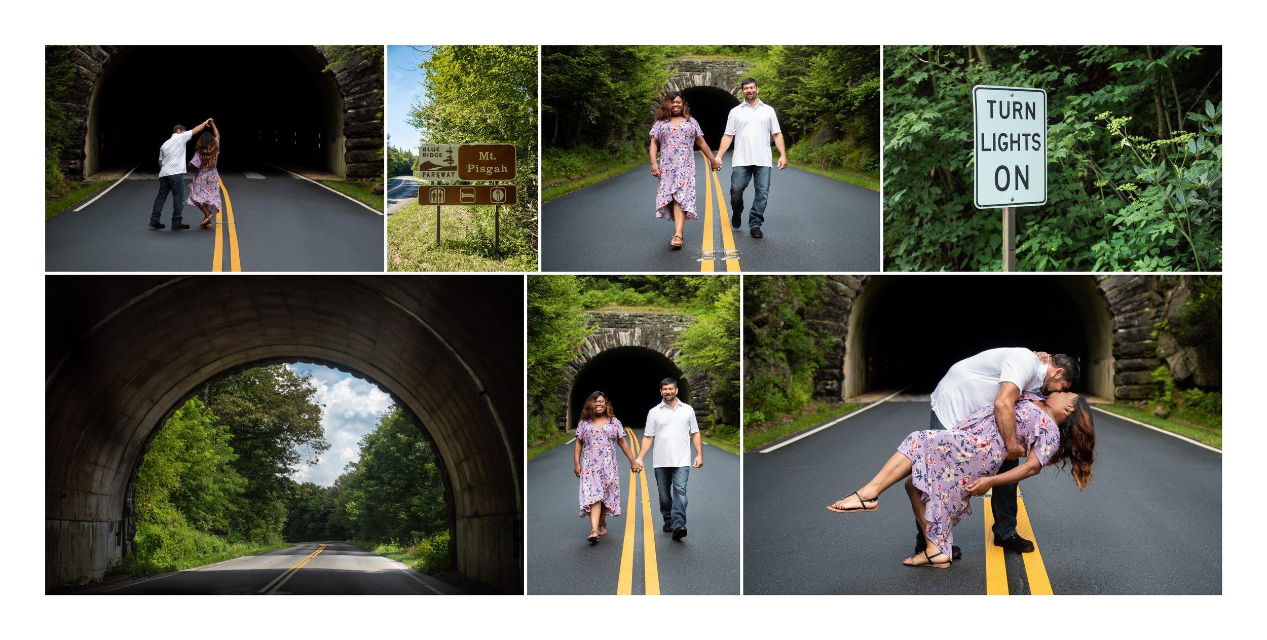 Destination Engagement Photos in Asheville, NC