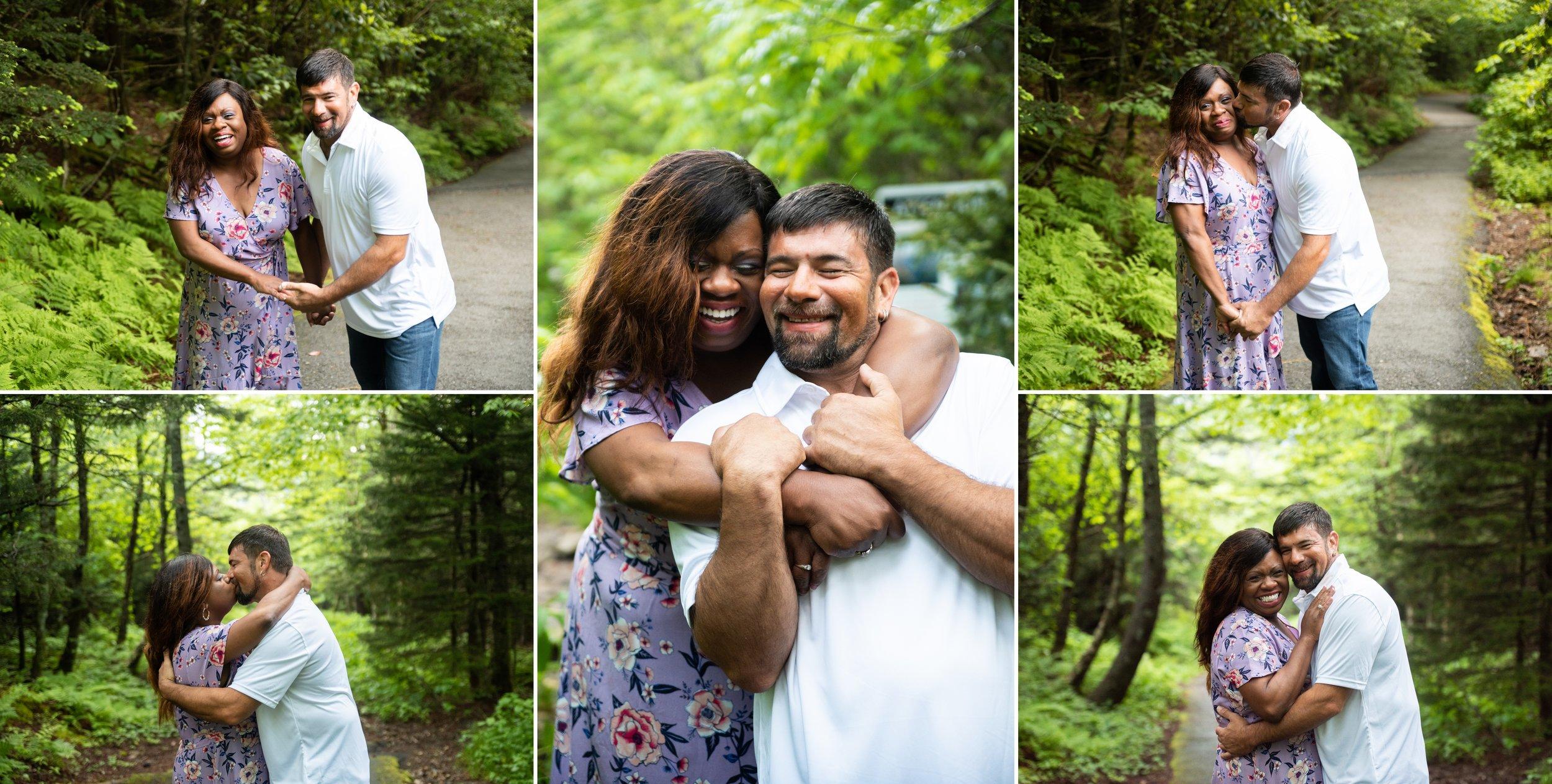 Destination Engagement Photo Album in Asheville, NC